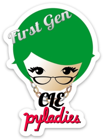 First Gen Cleveland PyLadies sticker #2